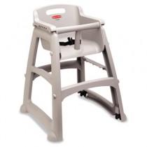 Sturdy Chair Youth Seat, Roll, Plastic, 23 3/8w x 23 1/2d x 29 3/4h, Platinum
