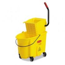 Wavebrake 35-Quart Bucket/Wringer Combinations, Yellow