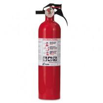 FA110 Full Home Fire Extinguisher, 1-A,10-B:C, 100psi, 13.75h x 3.25dia, 2.5lb