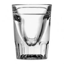 Line Whiskey Shot Glasses, 1.5oz, Clear