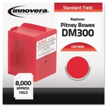 7659 Compatible, Reman, Ink 765-9 Postage Meter,  8000 Page-Yield, Red
