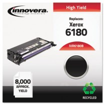 6180B Remanufactured, 113R00726 (Phaser 6180) Toner, 8000 Yield, Black