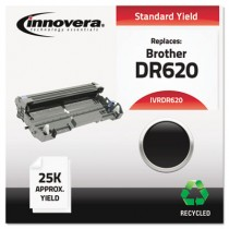 DR620 Compatible, Remanufactured, DR620 Drum, 25000 Page-Yield, Black