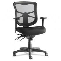 Elusion Series Mesh Mid-Back Multifunction Chair, Black