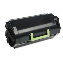 62D1H00 (LEX-621H) High-Yield Toner, 25000 Page-Yield, Black