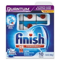 Quantum Dishwasher Tabs, With Baking Soda, Blue