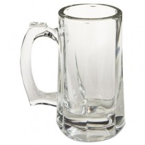"Glass Mugs & Tankards, Beer Stein, 10 oz, 5 7/8"" Tall"