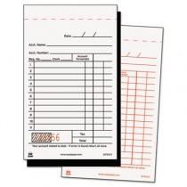 Sales Receipt Book, Carbon Duplicate, 3 1/2 x 6 7/10