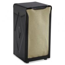 Tabletop Napkin Dispenser, Tall Fold, 3-3/4 x 4 x 7-1/2, Capacity: 150, Black