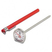 Dishwasher-Safe Industrial-Grade Analog Pocket Thermometer, 0�F to 220�F