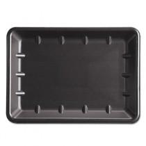 Supermarket Tray, Foam, Black, 10 x 14 x 1-1/4, 100/Case