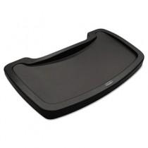 Sturdy Chair Microban Youth Seat Tray, Plastic, Dark Green, 11.5 x 18.5 x 3.25