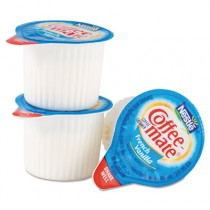 Liquid Coffee Creamer, French Vanilla Flavor .375 oz. Individual Mini Cups Packed In Serving Pack