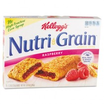 Nutri-Grain Cereal Bars, Raspberry, Indv Wrapped 1.3oz Bar, 16 Bars/Box