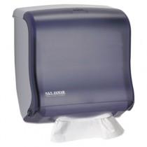 Ultrafold Fusion C-Fold & Multifold Towel Dispenser, 11 1/2x5 1/2x11 1/2, Black