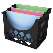 Recycled Desktop File Holder, Plastic, 13 1/4 X 8 5/8
