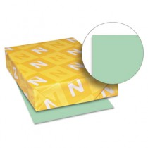 Exact Index Card Stock, 90 lbs., 8-1/2 x 11, Green, 250 Sheets/Pack
