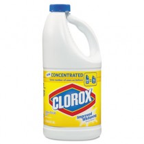 Concentrated Scented Bleach, Lemon Scent, 64oz Bottle