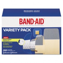 Sheer/Wet Adhesive Bandages, Assorted Sizes