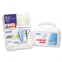 First Aid Kit for Up to 25 People, 113 Pieces, Plastic Case