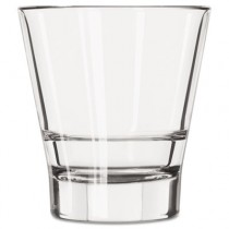 Endeavor Rocks Glasses, 12 oz, Clear, Double Old Fashioned Glass