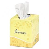 Cube Box Facial Tissue, 2-Ply, White, 7 21/32 x 8 27/32