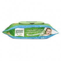 Free & Clear Baby Wipes, White, Unscented