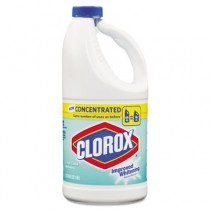 Concentrated Scented Bleach, Clean Linen, 64oz Bottle