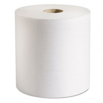 Hardwound Roll Paper Towels, 7 7/8 x 800 ft, White