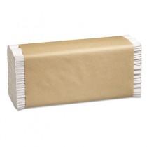 Folded Paper Towels, 10 1/8 x 13, C-Fold, White