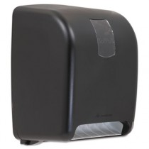 "Towel Dispenser, 9 3/4""x16""x12"", Black"