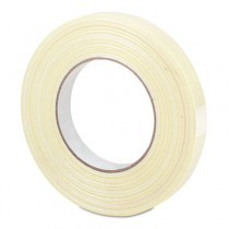 "Premium-Grade Filament Tape w/Hot-Melt Adhesive, 1"" x 60 yards"