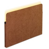 1 3/4 Inch Expansion File Pocket, Manila/Red Fiber, Letter, 25/Box