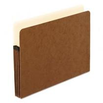 3 1/2 Inch Expansion File Pocket, Manila/Red Fiber, Letter, 25/Box