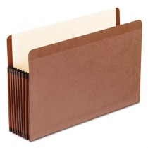 Watershed Seven Inch Expansion File Pocket, Straight Cut, Legal, Red
