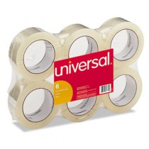 """Box Sealing Tape, 2"""" x 110 yards, 3"""" Core, Clear, 6/Box"""