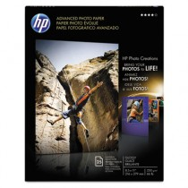 Advanced Photo Paper, 56 lbs., Glossy, 8-1/2 x 11, 25 Sheets/Pack