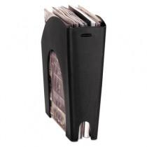 Regeneration Recycled Plastic Magazine File, 4 5/8 x 11 x 11 3/8, Black