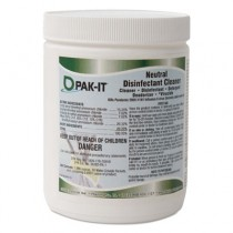 Neutral Disinfectant Surface Cleaner, Marine Scent, 20/Jar