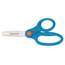"Kids Scissors With Microban Protection, Assorted Colors, 5"" Blunt"