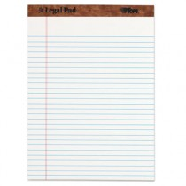 The Legal Pad Legal Rule Perforated Pads, Letter Size, White, 50 Sht Pads,  Dozen