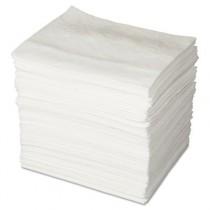 ENV MAXX Enhanced Oil-Only Sorbent Pads, .16gal, 15w x 19l, White
