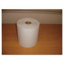"Hardwound Roll Towels, Paper, White, 7 4/5"" x 600ft"