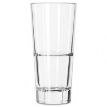 Endeavor Beverage Glasses, 14 oz, Clear