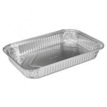 """Aluminum Roasting Container, #4 Duck Pan, 12 1/8"""" x 8 1/8"""" x 1 1/2"""""""