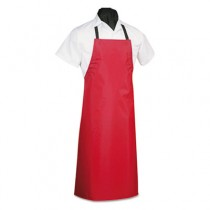 Dishwashing Apron, PVC/Vinyl, 29 x 42, Black