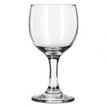 """Embassy Flutes/Coupes & Wine Glasses, Wine, 6 1/2oz, 5 3/8""""H, Clear"""