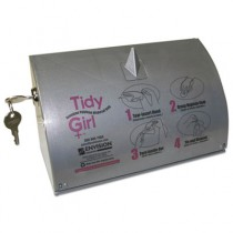 Tidy Girl Bag Dispenser for Sanitary Napkin Disposal Bags, Holds One Roll