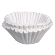 Commercial Coffee Filters, 10 Gallon Urn Style, White