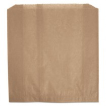 Waxed Napkin Receptacle Liners, 9-3/4 x 11 x 3-5/8, Brown